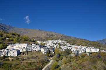 Trevelez town in Sierra Nevada, Granada