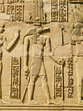 Fototapeta Temple of Kom Ombo, Egypt: Sobek - the crocodile-headed god of t