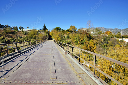 bridge designed by Eiffel in Durcal, Granada