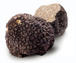 canvas print picture - Black truffles.