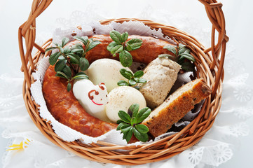 Food devoted to Holy Saturday