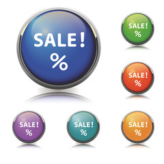 Sale Button/Icon