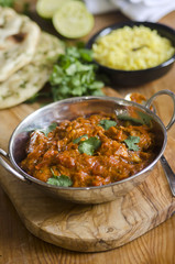 Indian Chicken Balti