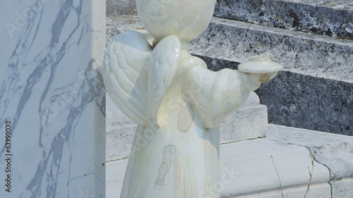 Angel detail at Cavtat old cemetery