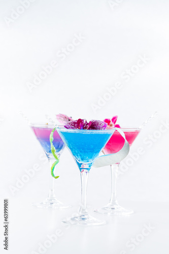 Molecular mixology - Cocktail with caviar