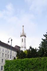 Kirchturm in Wien 6