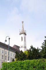 Kirchturm in Wien 7