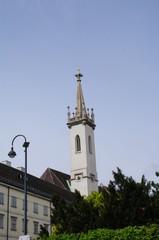 Kirchturm in Wien 3