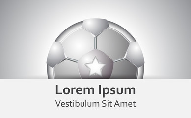 Football icon concept design,Soccer symbol