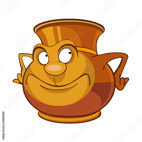 clay jug cartoon