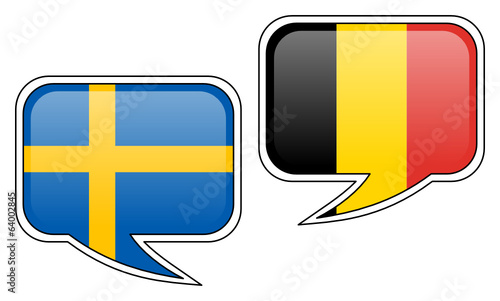 Swedish-Belgian Conversation