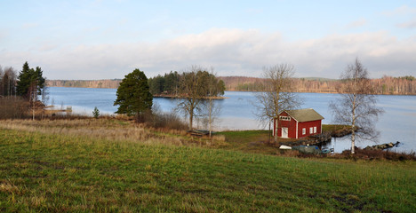 landscape in Sweden, Scandinavia, Europe