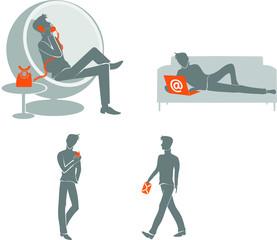 Homme et communication moderne