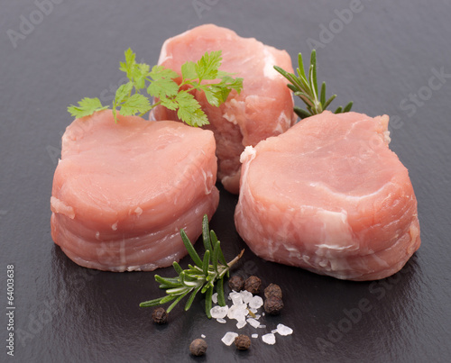 Medaillons of pork