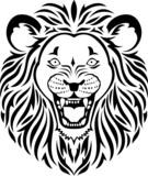 Lion head icon - 64008830