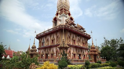 Буддийский храм. Таиланд. Пхукет