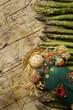 Obrazy na płótnie, fototapety, zdjęcia, fotoobrazy drukowane : Asparagus officinalis Asperge Gemüsespargel Asparagi verdi