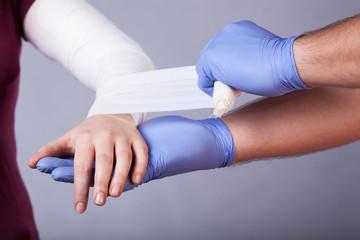 Making a bandage