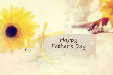 Happy Fathers Day Message Card