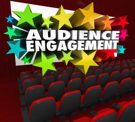 Audience Engagement Movie Theatre Entertain Crowd Participation
