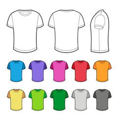 T-shirt in various colors - 2.