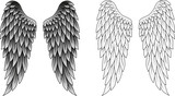 Wings tattoo - 64012092