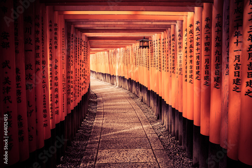 Foto op Plexiglas Japan The Light At The End Of The Tunnel