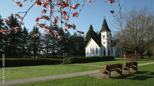 Spring Chapel, dolly shot