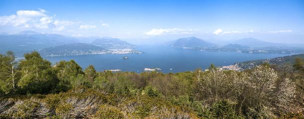 Maggiore Lake, landscape from Mottarone