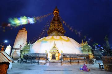 Swayam Bhunath temple