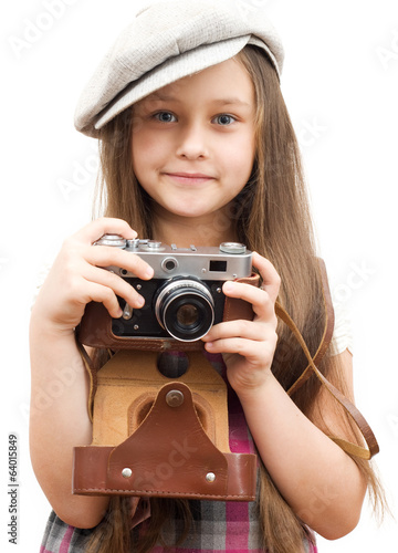 child vintage photographer