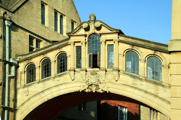 Bridge of Sighs, Hertford College, Oxford University