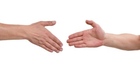 Hände geben