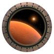 Mars Spacecraft Porthole.