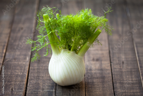 Fresh organic fennel is full of fibers and vitamins