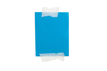 Blue Blank Card, Adhesive Tape