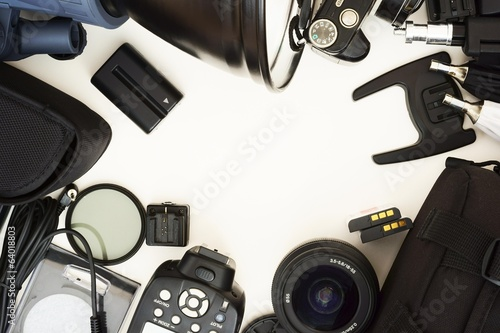 Equipment for studio photography