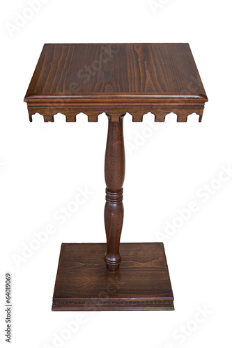 Speech Table, Rostrum, Isolated