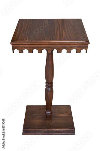 Speech Table, Rostrum, Isolated