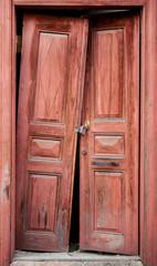 Old Ruin Door