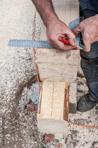 Carpenter measuring