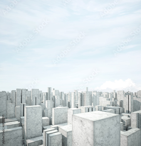 abstract concrete architecture