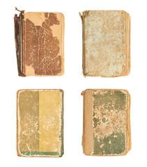 Old decrepit book cover