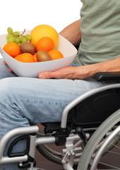 Rollstuhlfahrer und gesunde Ernährung