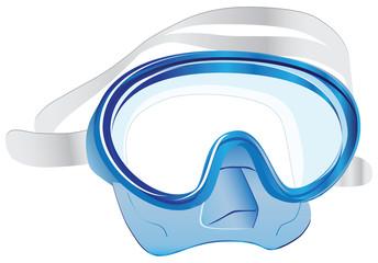 Swim scuba mask