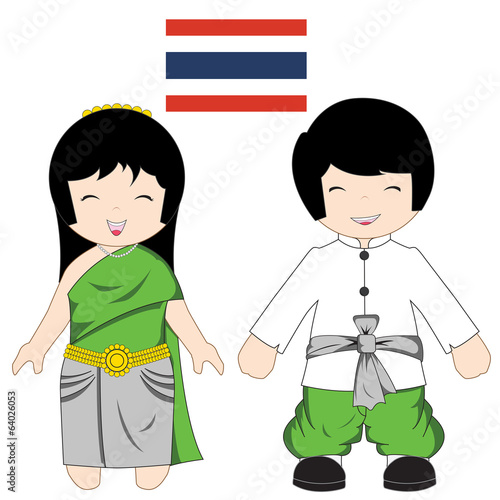 Thai traditional costume
