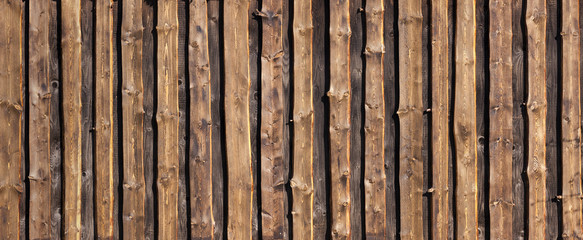 Brown timber board background