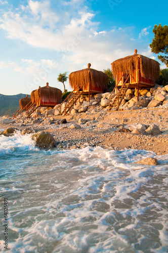 Seaside Bungalows in Turkey, Fethiye