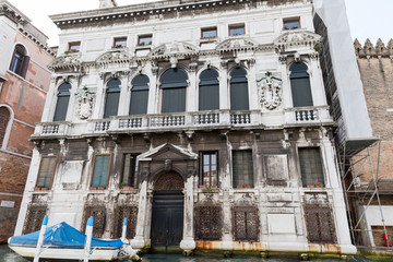 Old house on the Venetian canal