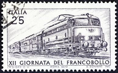 Electric Locomotive Tartaruga (Italy 1970)
